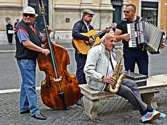 Strassenmusik, Rom [2] - Ronaldino