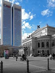 Frankfurt im Gegensatz