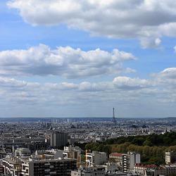 Paris vu du 26ème étage chez mon cousin