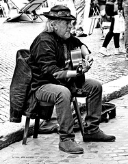 Strassenmusik, Rom [1] -  The Guitarman