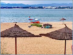 Hammamet : la spiaggia davanti alla città
