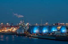 Sewage treatment plant Köhlbrandhöft