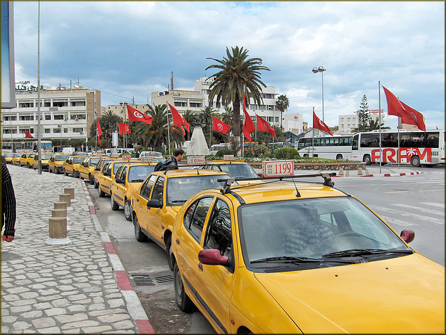 Sousse (TN) 4 avril 2007. Taxi!!!!