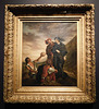 Hamlet and Horatio in Graveyard 1839 version by Delacroix in the Metropolitan Museum of Art, January 2019