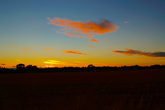 Gnosall sunset