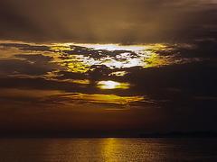 20161020 190814Hw [E] Sonnenuntergang, Atalaya Park Hotel, Estepona, Spanien