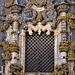 """The complete Manueline motifs, including gargoyles, gothic pinnacles, statues and """"ropes""""."""