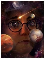 la tête dans les planètes