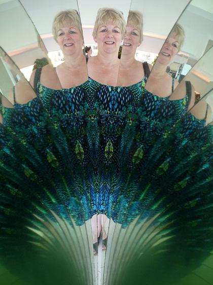 Peacock Lady