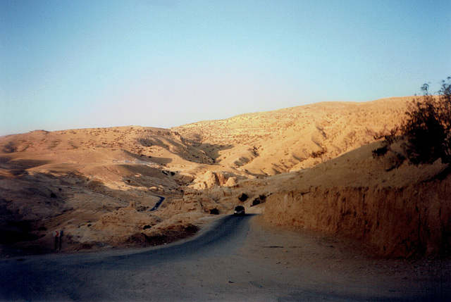 Road to Petra.