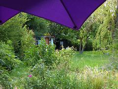 un giardino provenzale molto gipsy !