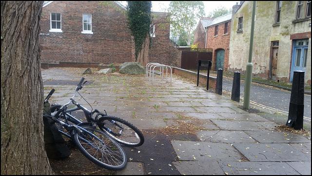 unwanted cycle racks