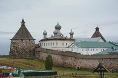 Спасо-Преображенский Соловецкий монастырь, Корожная башня, Иконописная палата и Северная (Никольская) башня