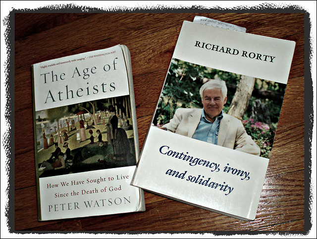 Richard Rorty quoted by Peter Watson *