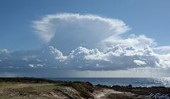 Thunderhead over SeaCaves