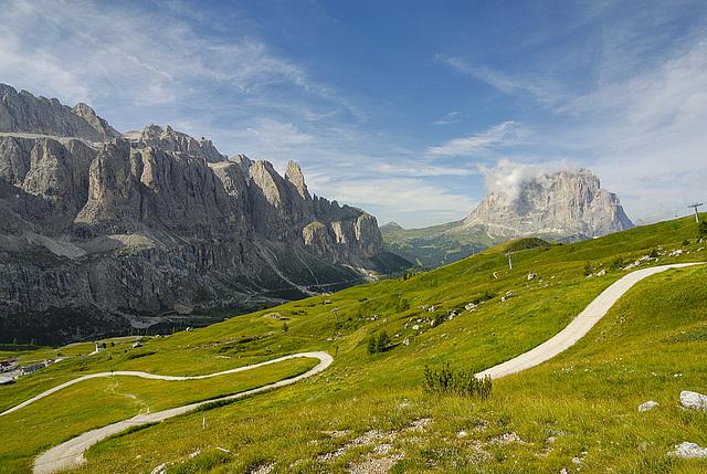 Sella e Sassolungo - Dolomiti