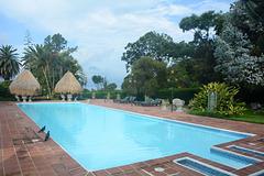 Guatemala, Pool at Villa Santa Catalina