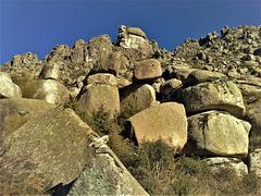 Sierra de La Cabrera. The western end as seen below Cancho Largo