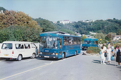 Tantivy Blue 3 and 107 at St. Brelade's Bay - 4 Sep 1999