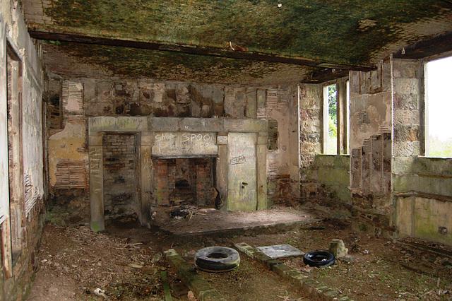 Former Servants Hall, Ury House, Stonehaven, Aberdeenshire, Scotland