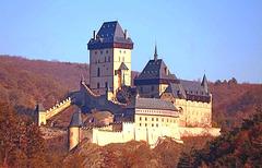 Karlštejn -  kastelo / castle - Ĉeĥio / Czech Republic