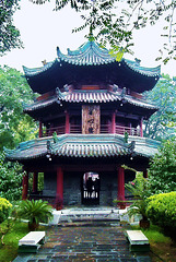 IM000754ac Xi'An Great Mosque Tower