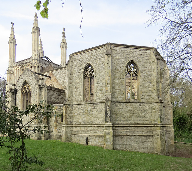 nunhead cemetery chapel, london
