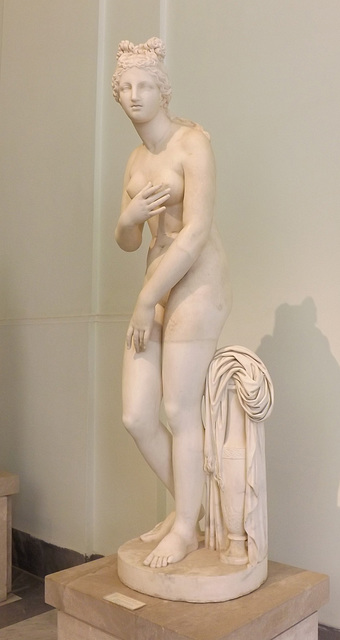 Aphrodite of the Dresden-Capitoline Type in the Naples Archaeological Museum, July 2012