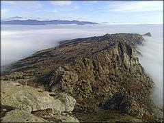 La Cabrera foggy day. December 2011