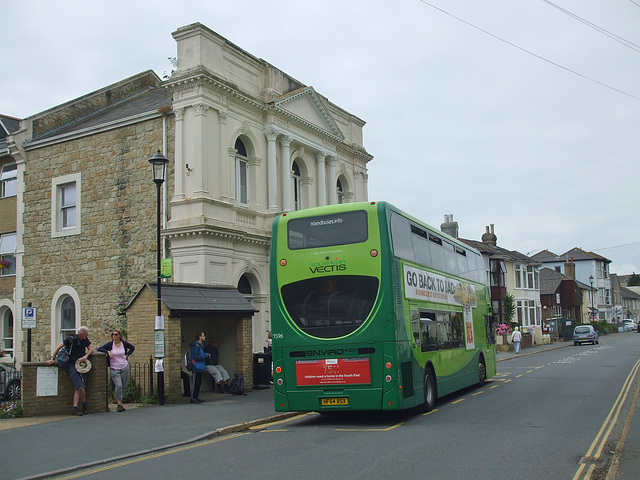 DSCF8567 Go-South Coast (Southern Vectis) 1596 (HF64 BSX) in Ventnor - 4 Jul 2017