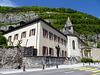 Kloster und Kirche in Saint Maurice VS
