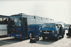 Tantivy Blue 1 and 139 at St. Helier - 4 Sep 1999
