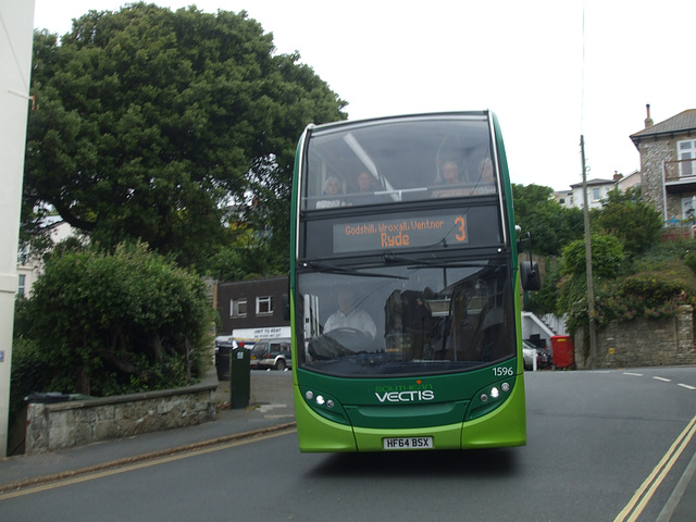 DSCF8565 Go-South Coast (Southern Vectis) 1596 (HF64 BSX) in Ventnor - 4 Jul 2017