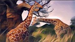 Jirafas da minha Africa