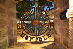 Norfolk Hotel Door