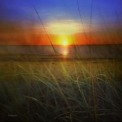 a  september sunrise on the bay