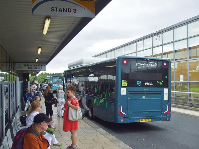 DSCF7742  Arriva 5009 (MX13 ABF) on the Runcorn Busway - 15 Jun 2017