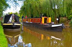 BRITANNIA on the Shropshire Union Canal