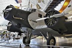 """Tante Ju"" – Smithsonian National Air and Space Museum, Steven F. Udvar-Hazy Center, Chantilly, Virginia"