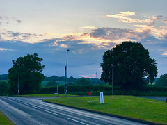 Verwood evening sky