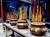 in a Hindu Temple at Saigon / Vietnam