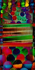 Collage of plastic