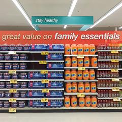 Cheezballs & Red Vines family essentials.