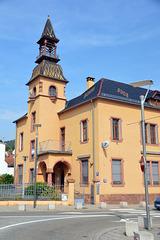 Das alte Postgebäude von Niederbronn-les-Bains