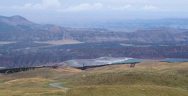 Flaming Gorge Simplot phosphate mine UT (#0052)