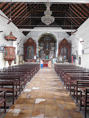 1605 Portuguese church interior