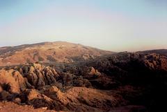 Mountains around Petra.