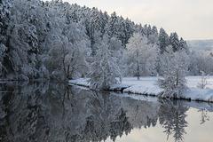 Winterspiegelungen
