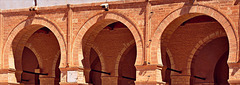 Qayrawan mosque some arches