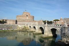 Roma, Castel Sant'Angelo e il ponte sul Tevere